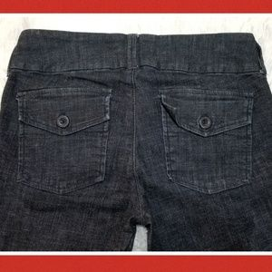 Heritage 1981 Jeans - Heritage 1981 Dark Wash Wide Leg Jeans